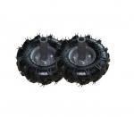 Резиновые колеса с съемными ступицами Ø 255 мм